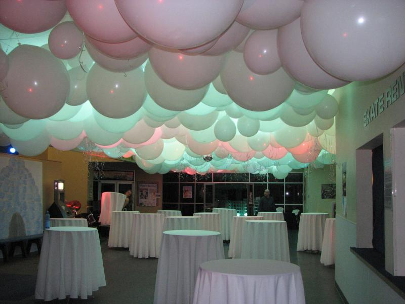 White Balloon Ceiling creates magic